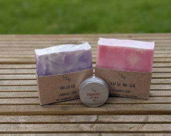 soap and lip balm bundle