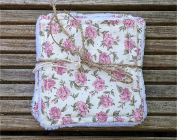 roses reuseable face wipes